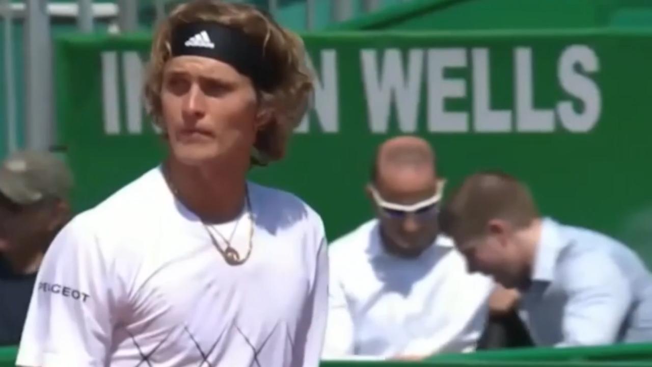Zverev spits at crowd member
