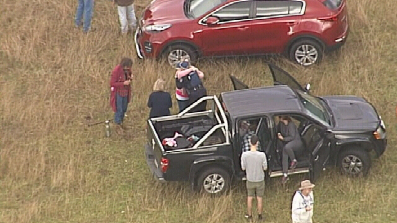 Child lost in dense bushland found safe and well