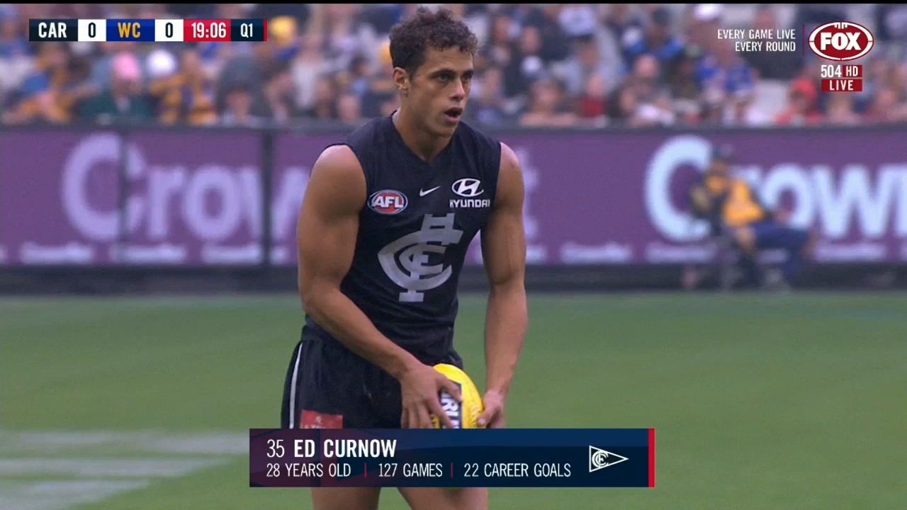 Curnow slots Blues first