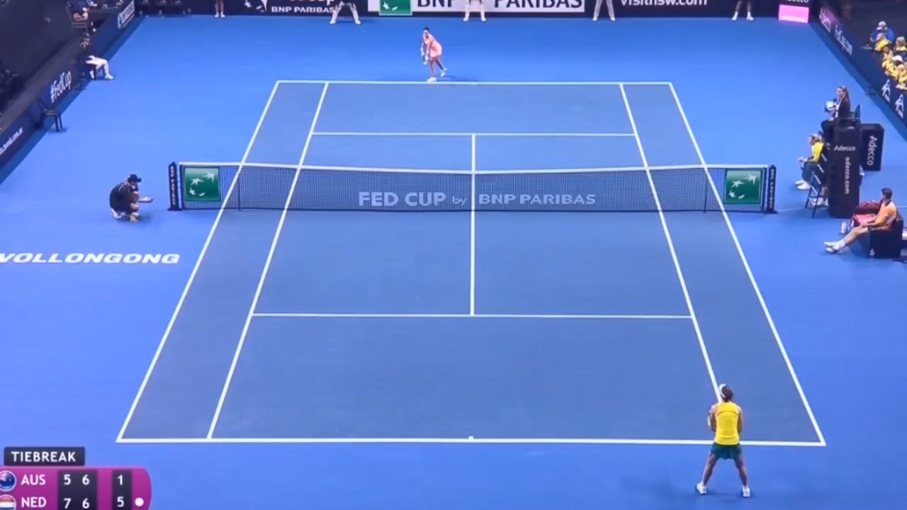 Stosur shocked in Fed Cup