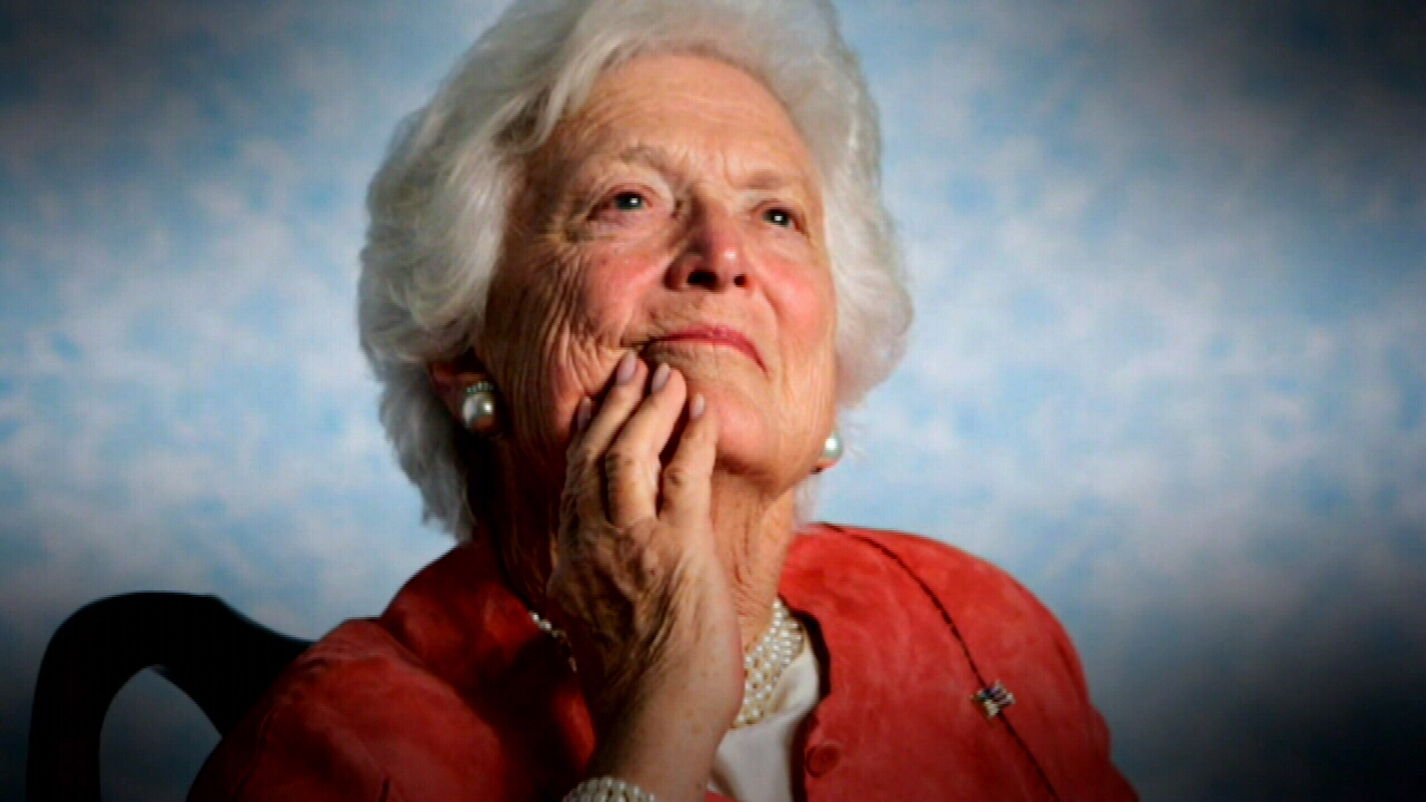 Mourners pay tribute to Barbara Bush