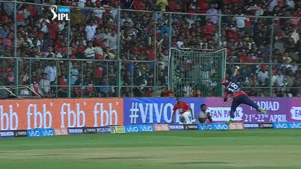 'That is the best catch we've ever seen in the IPL'