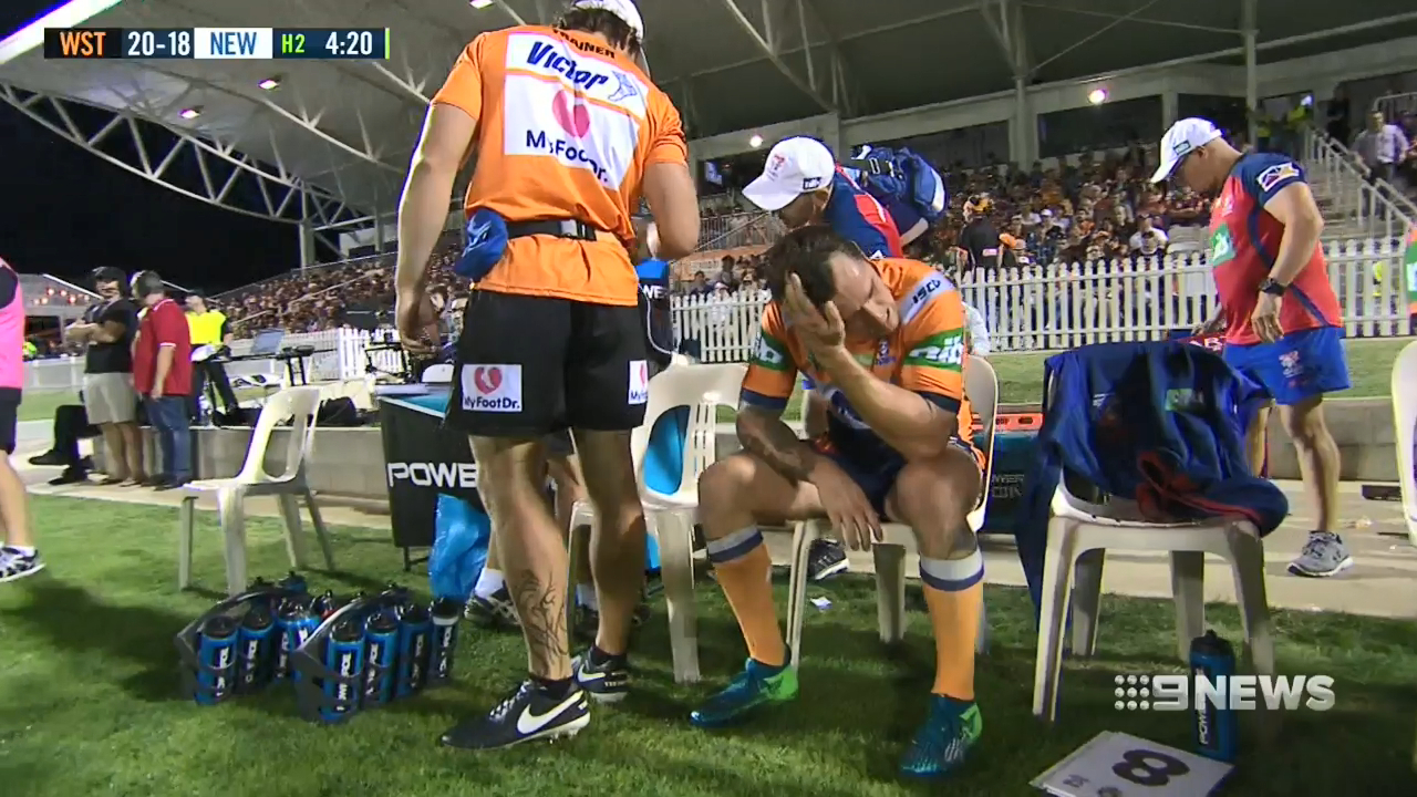 Mitchell Pearce out for four months