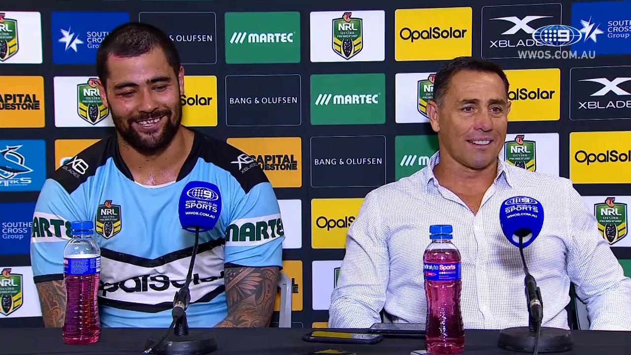 NRL Press Conference: Cronulla Sharks– Round 7