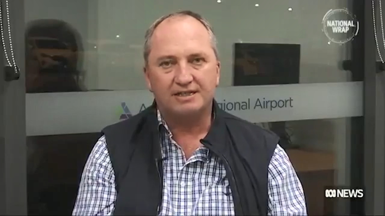 Barnaby Joyce talks about becoming a dad again