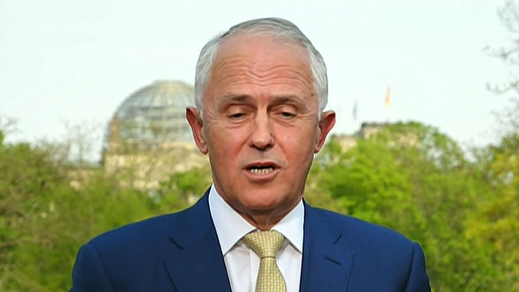 Malcolm Turnbull admits to his mistake