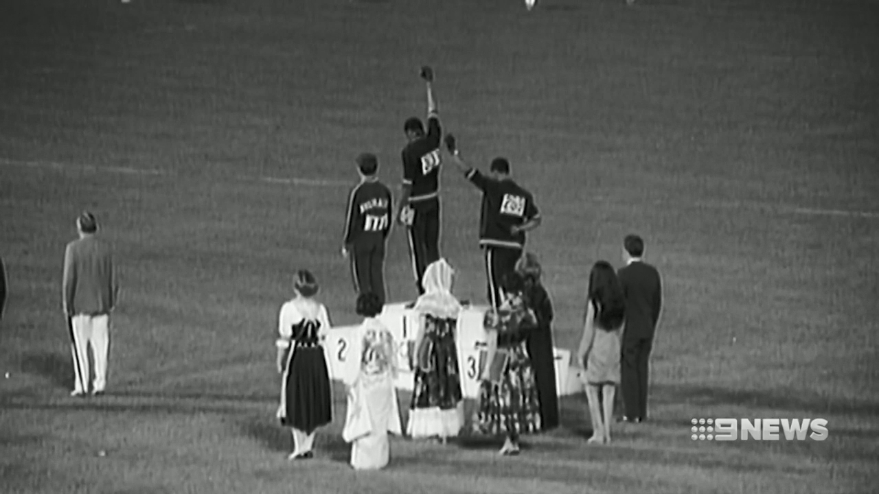 Peter Norman honoured for Black Power Salute