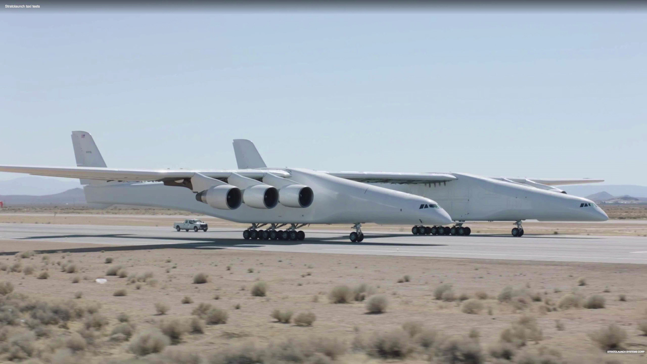 World's largest plane close to flying