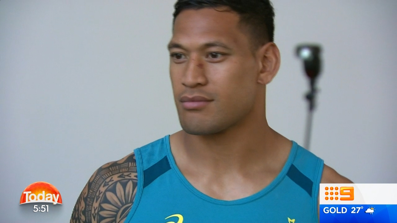 Folau linked to $1.4 million offer from English rugby