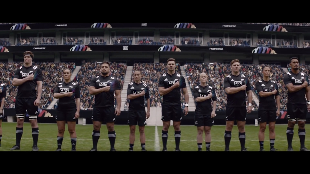 New Zealand rugby releases diversity video