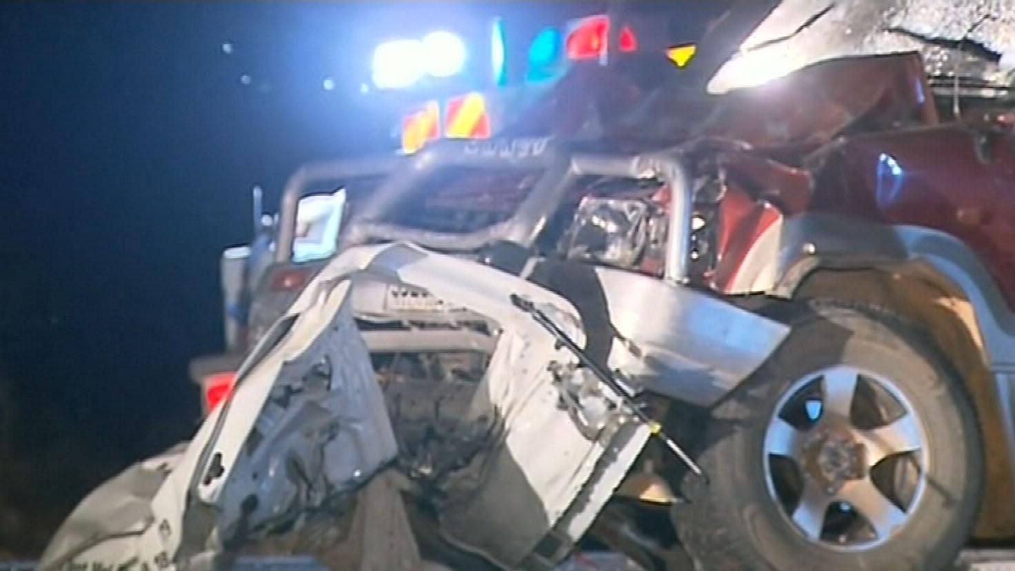 Fatal crash on Stuart Highway, Pimba