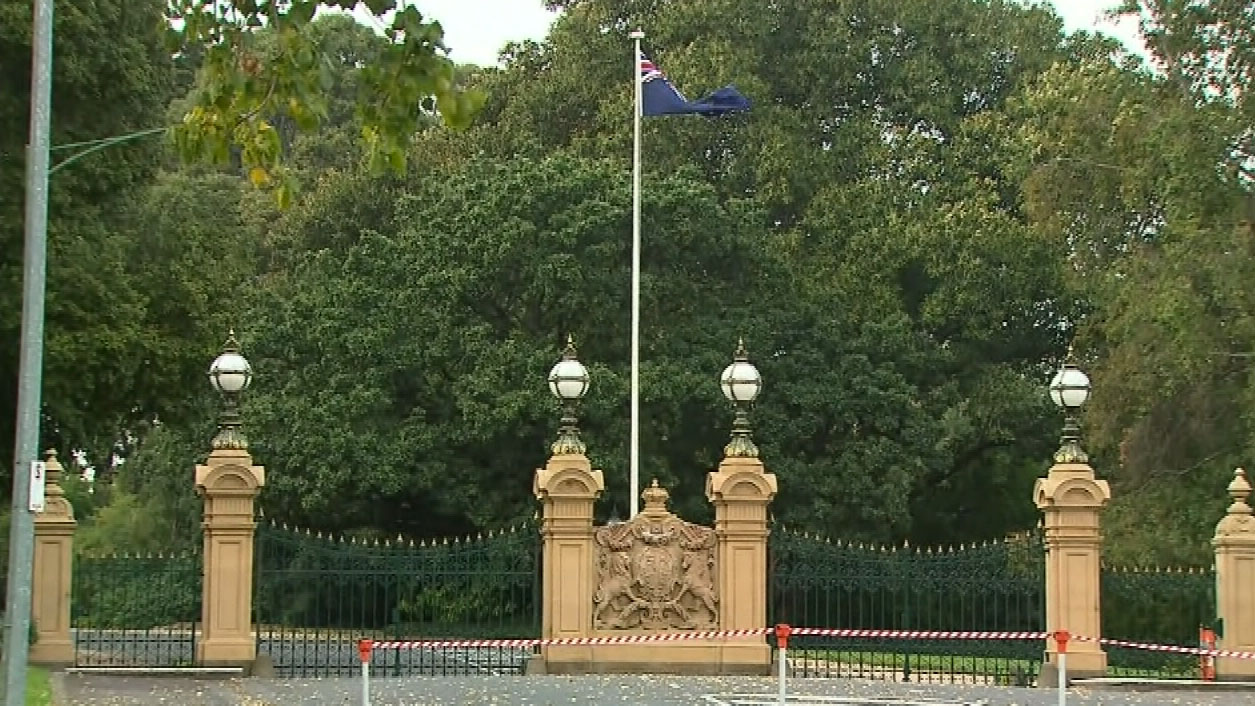 Man found in Melbourne Government House grounds