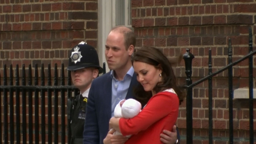Royal family gets a new baby boy