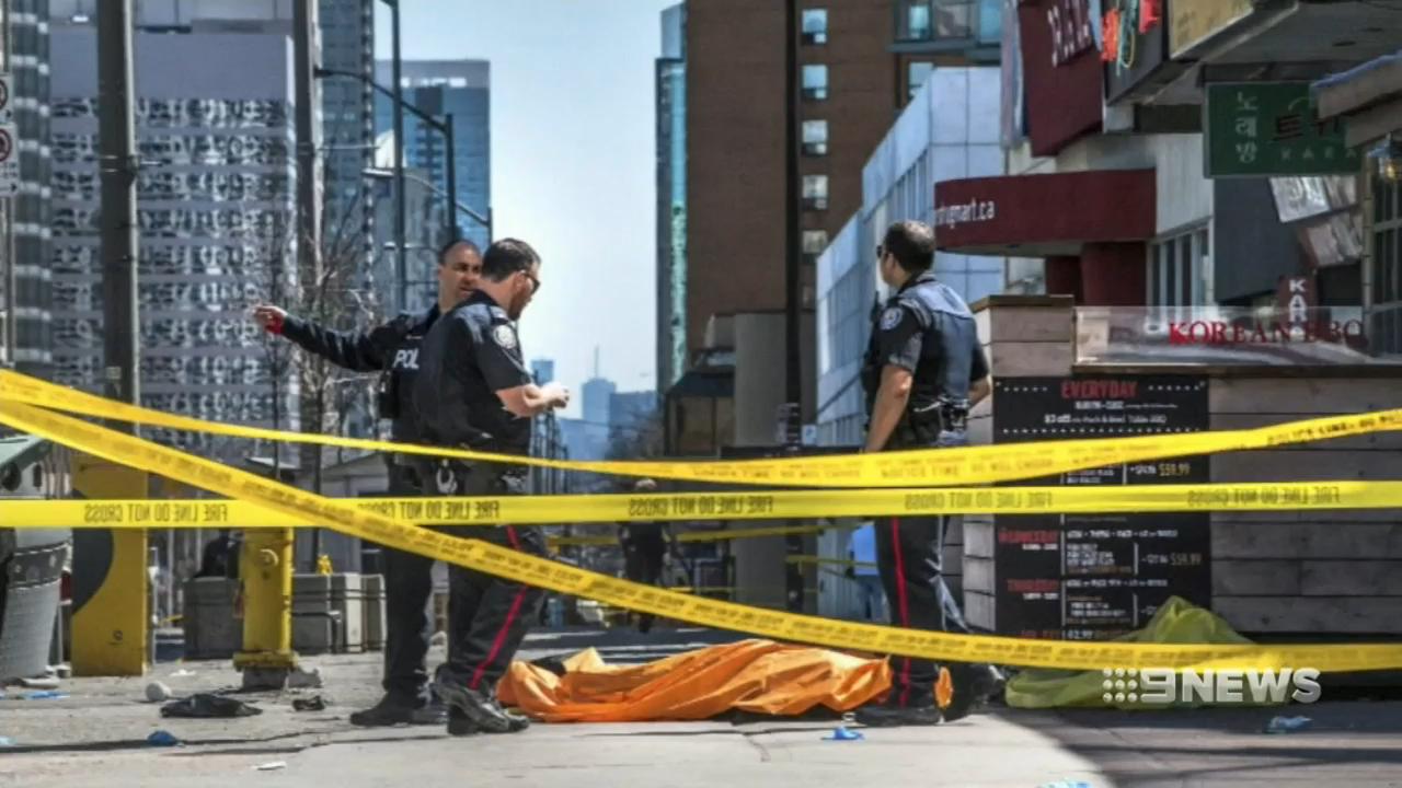 Ten people killed in Toronto van attack