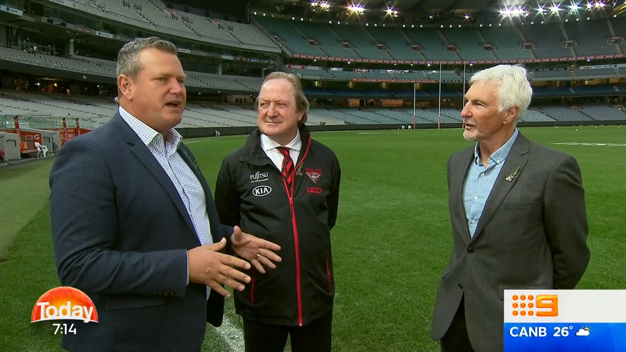 Sheedy and Malthouse preview ANZAC Day clash