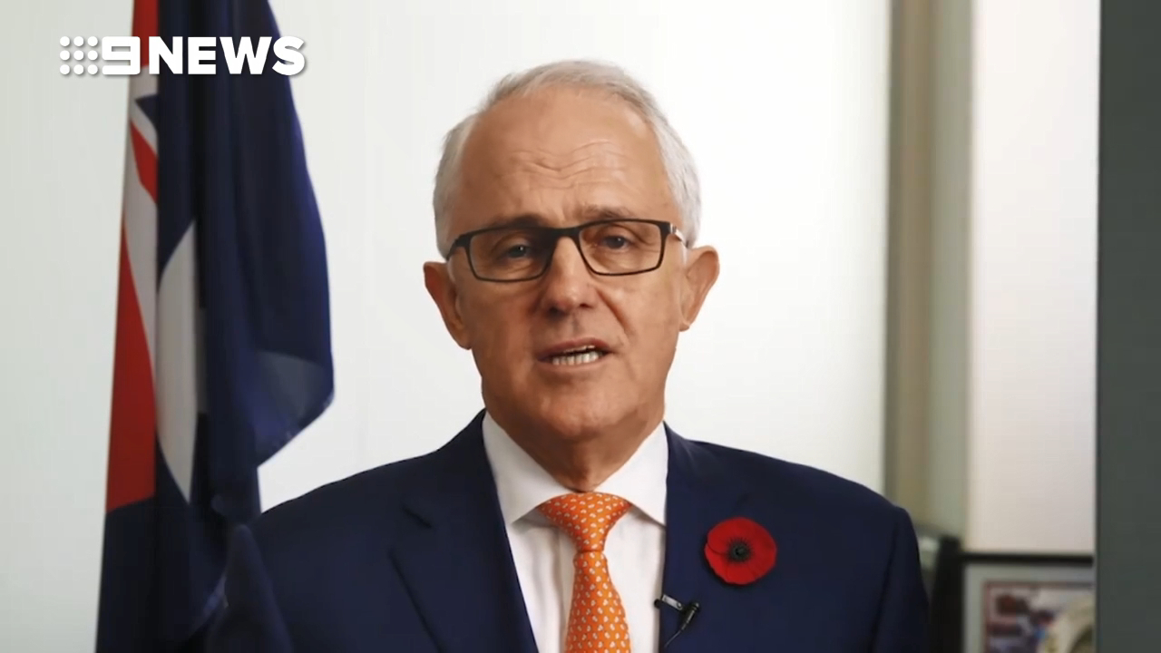 Malcolm Turnbull's Anzac Day message