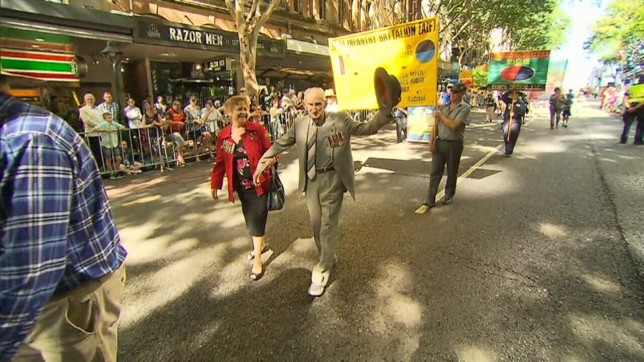 Tens of thousands gather in Brisbane CBD