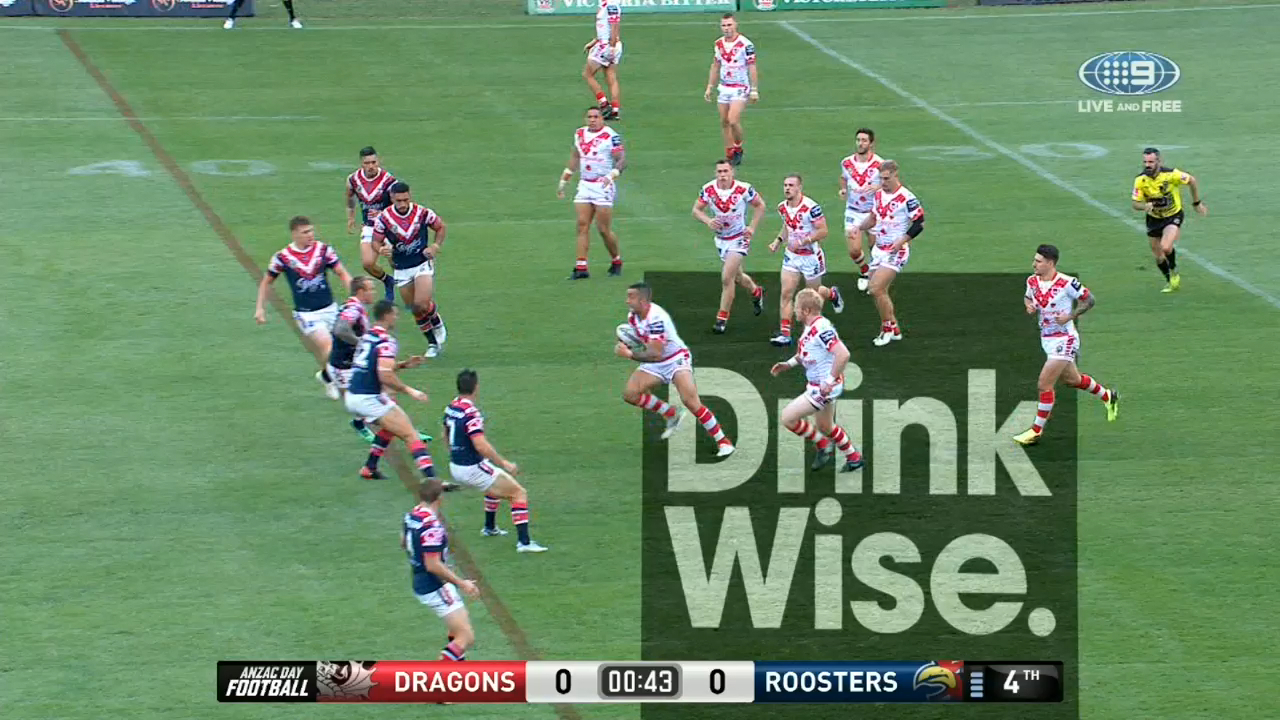 Macdonald gets the Roosters ahead early