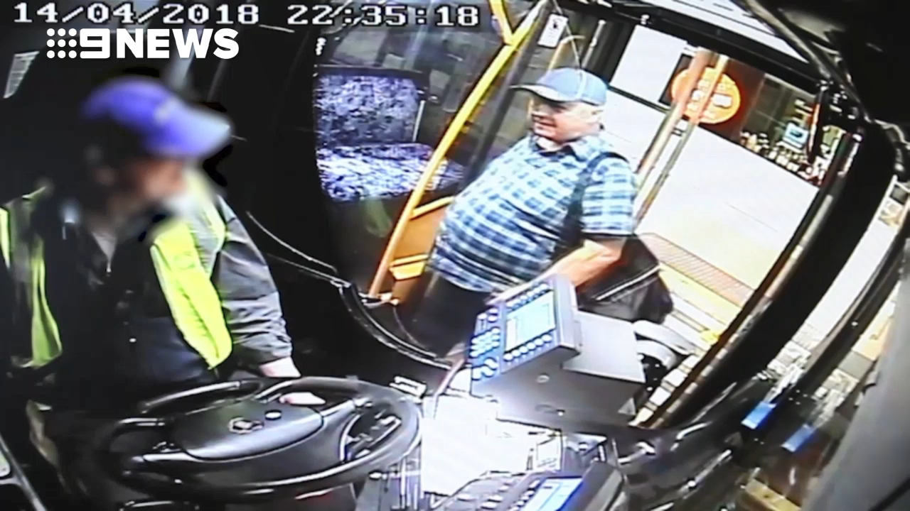 CCTV of Clovelly man's last moments