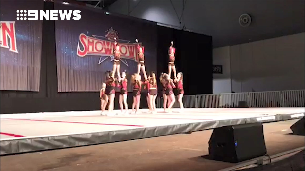 Aussie cheerleaders set to Ignite the US