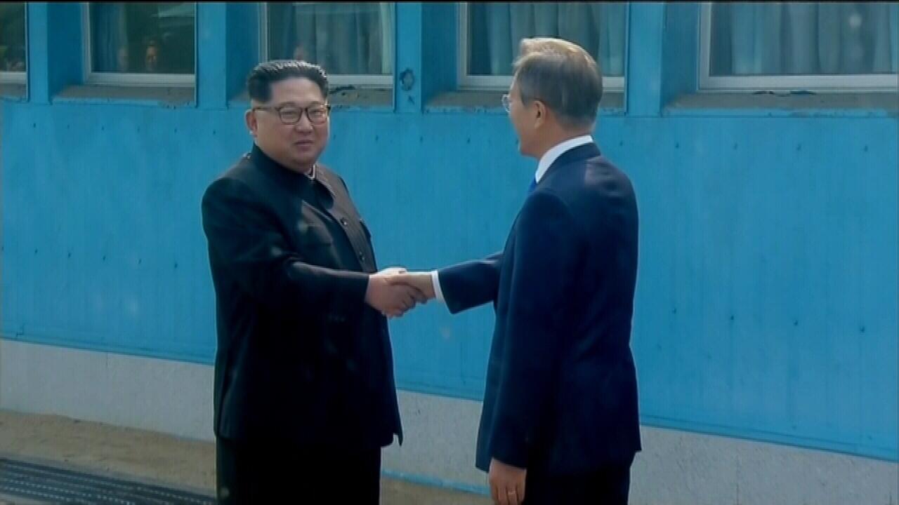 Historic talks between North Korean and South Korean leaders underway