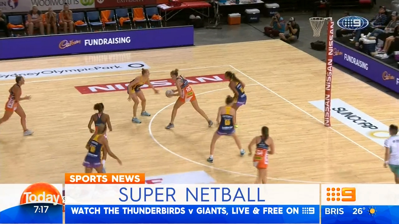 TODAY: Thunderbirds to take on Giants in Super Netball