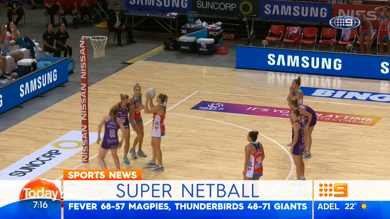 TODAY: Super Netball wrap