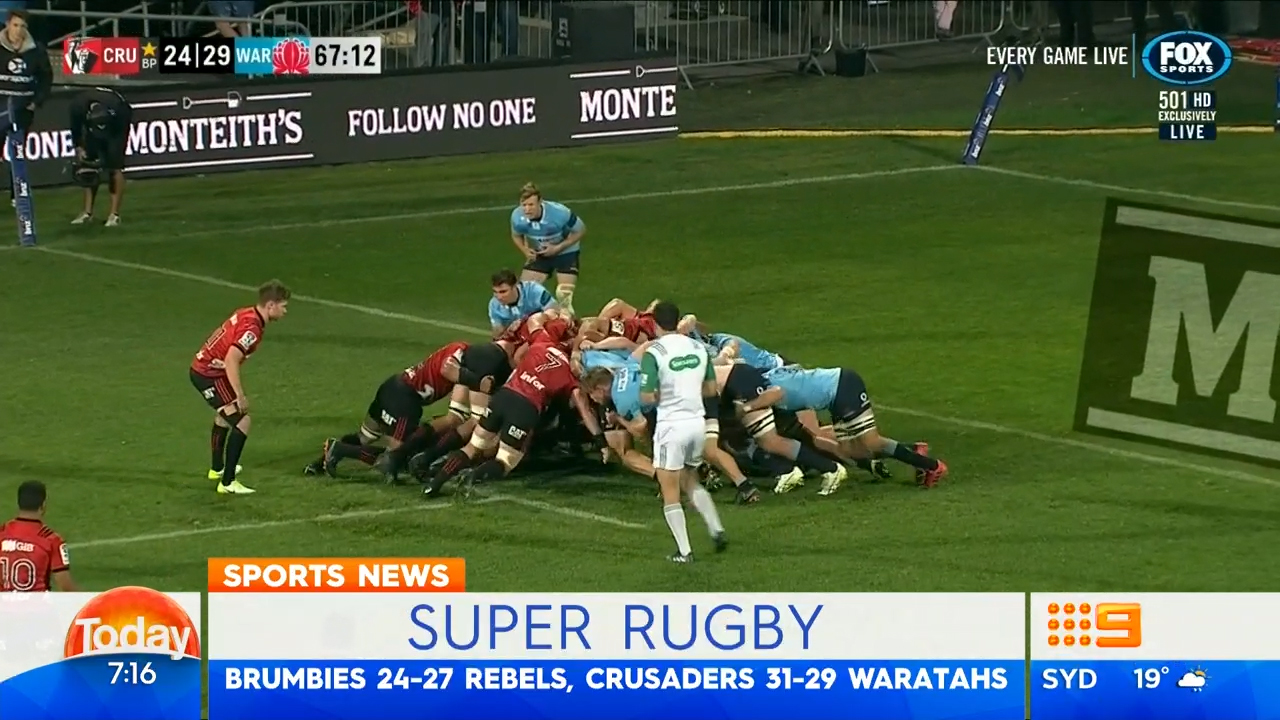 TODAY: Waratahs allow biggest comeback in Super Rugby history