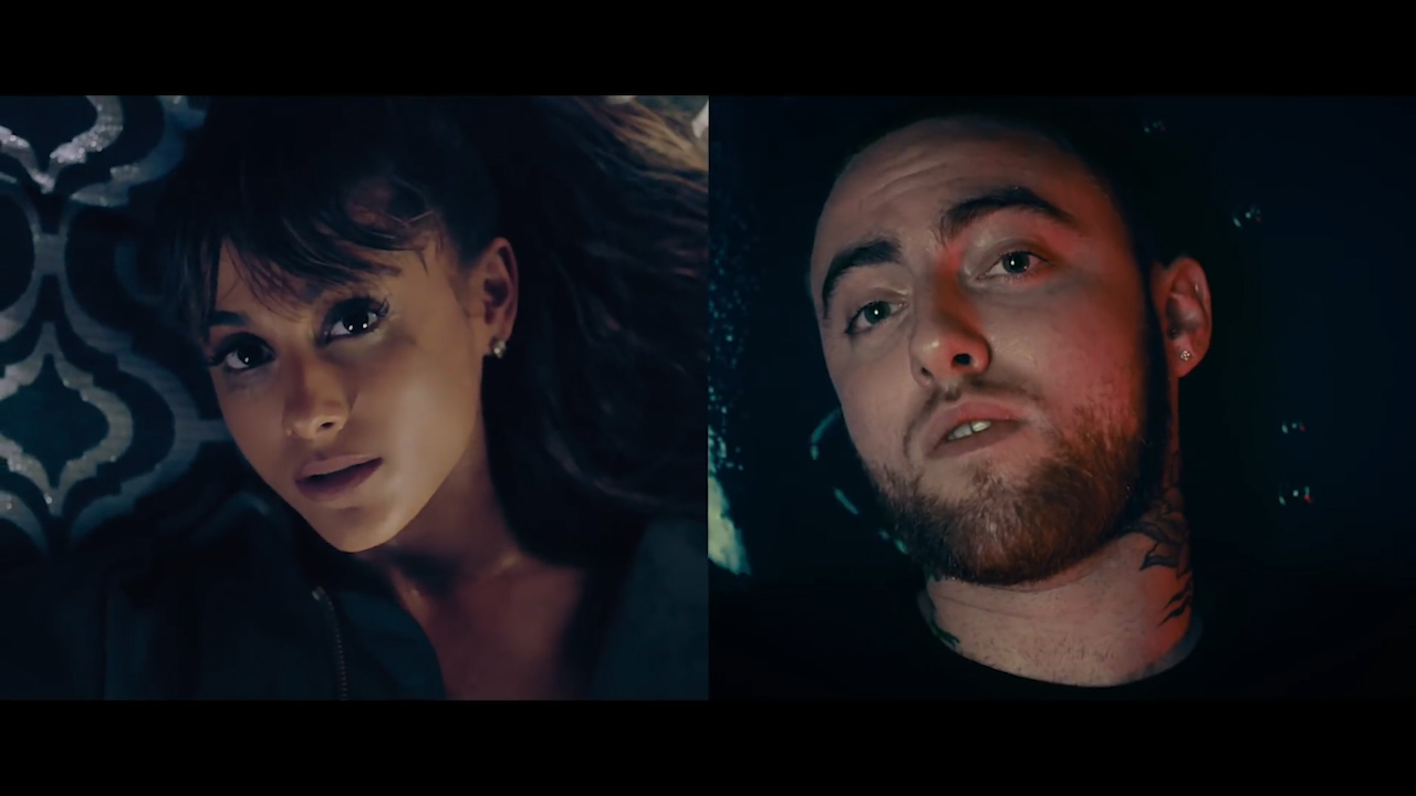 Mac Miller and Ariana Grande perform 'My Favourite Part'