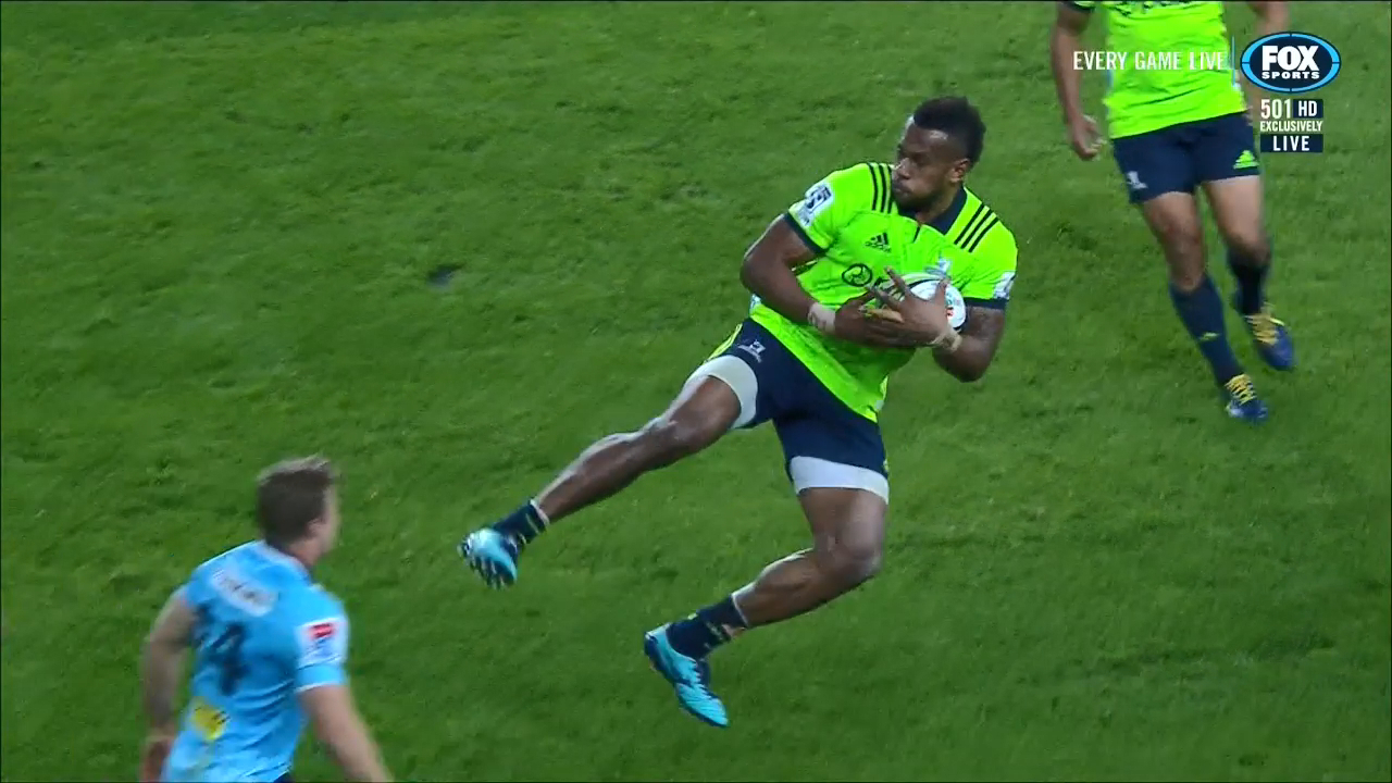 Tevita Nabura sent-off for kicking Clark