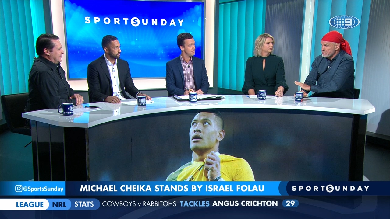 SPORTS SUNDAY: Panel discusses Folau's selection