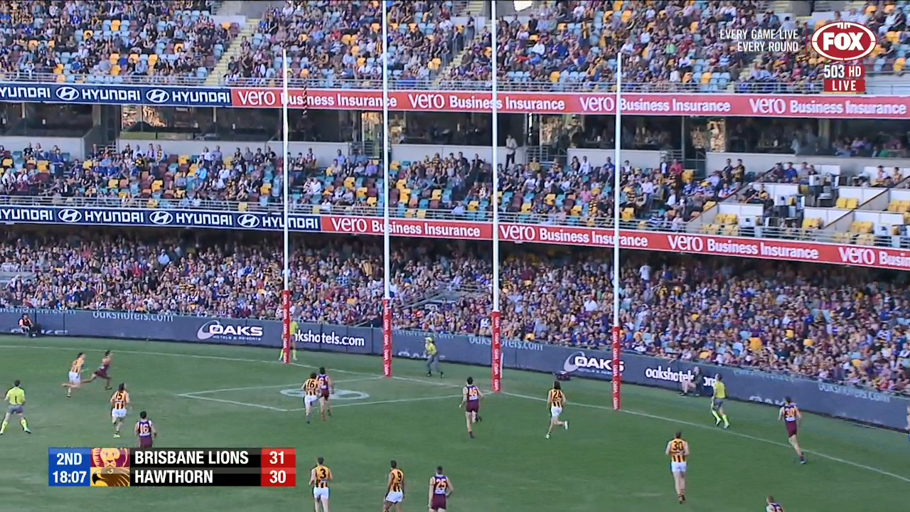 Lions extend their lead over Hawthorn