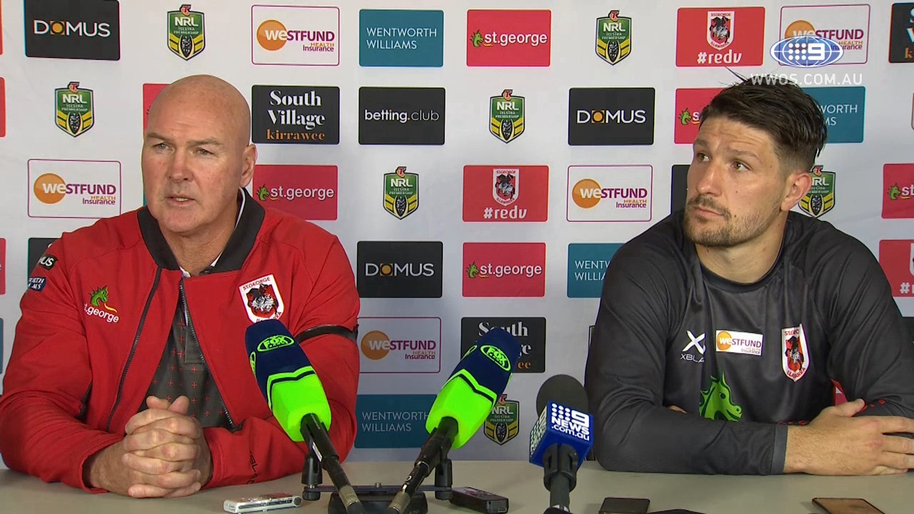 NRL Press Conference: St George Dragons - Round 11