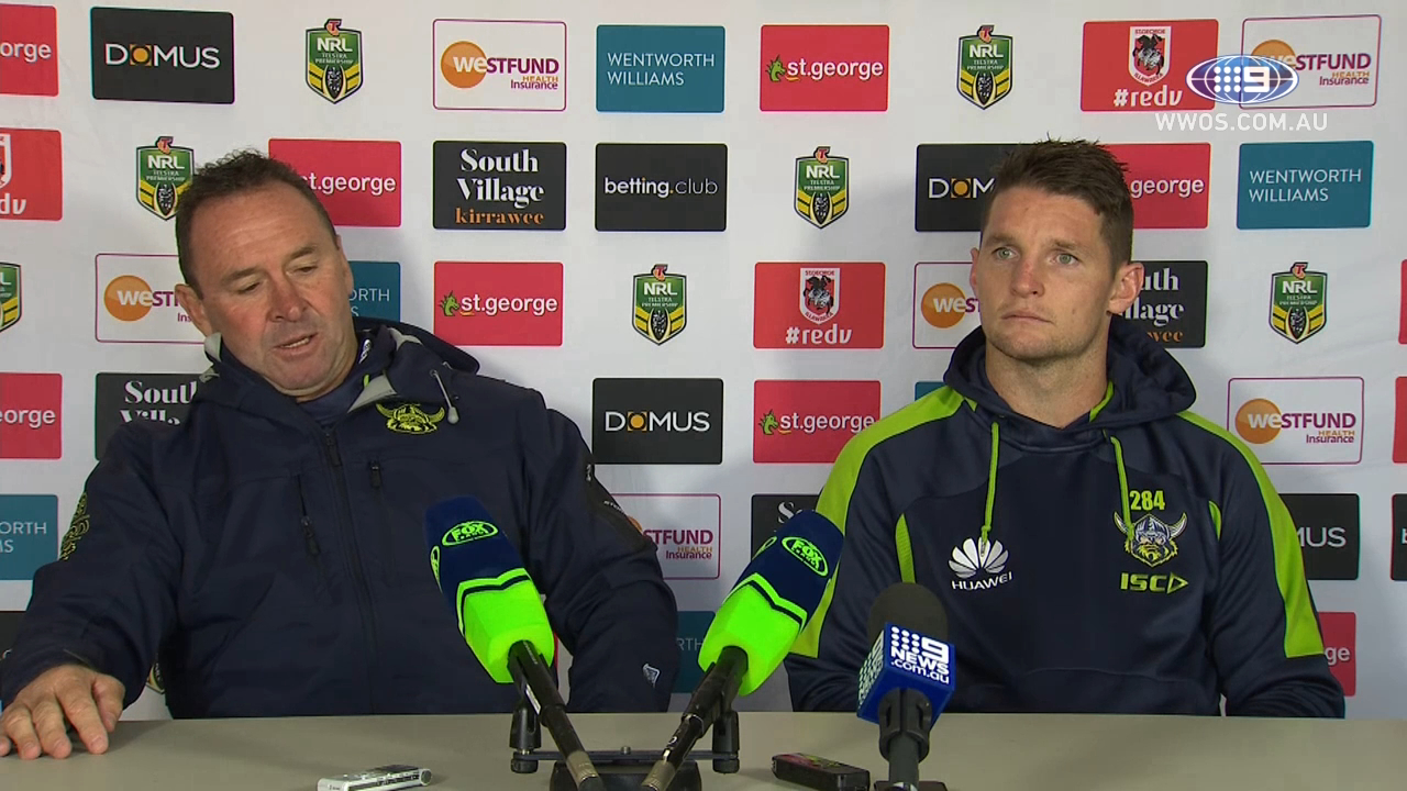 NRL Press Conference: Canberra Raiders - Round 11