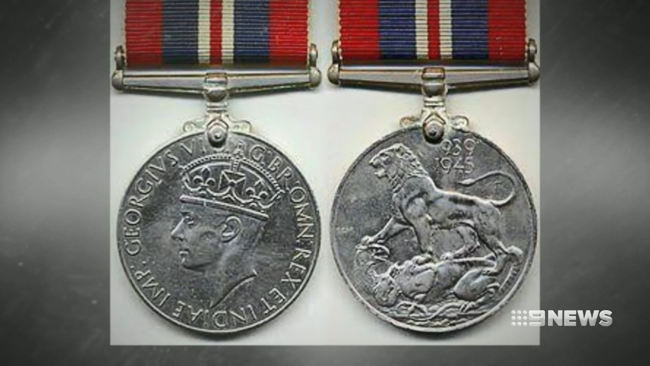 War medals stolen from Gold Coast serviceman