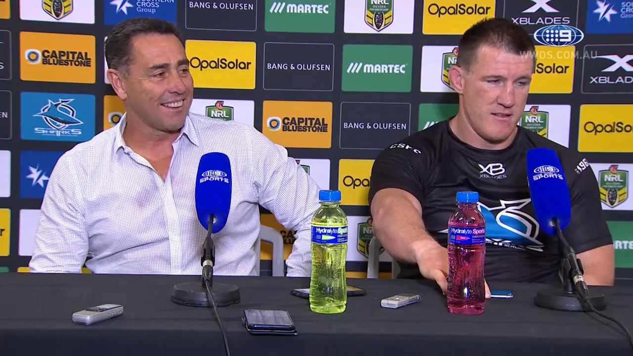 NRL Press Conference: Cronulla Sharks - Round 11