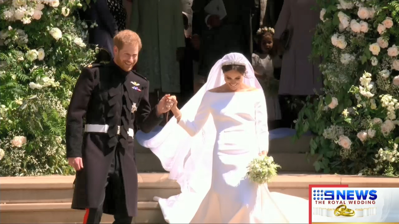 Prince Harry and Meghan Markle wed