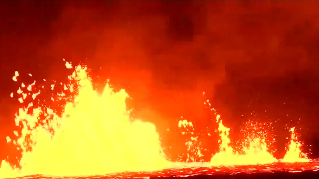 Man injured from Hawaii volcano eruption