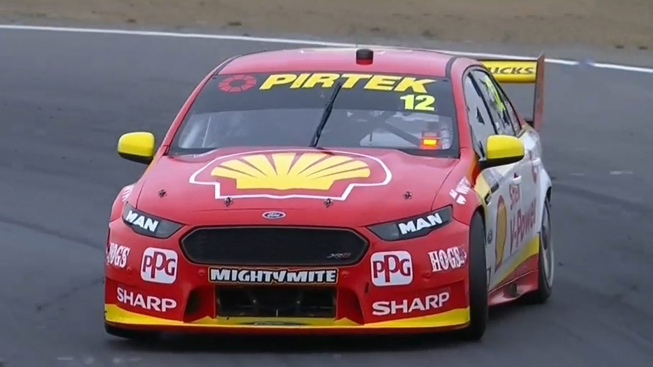 Coulthard ends eight month Supercars drought