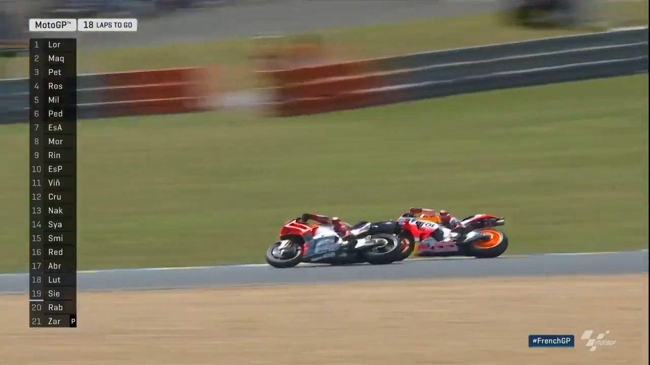 Marquez pulls off stunning move
