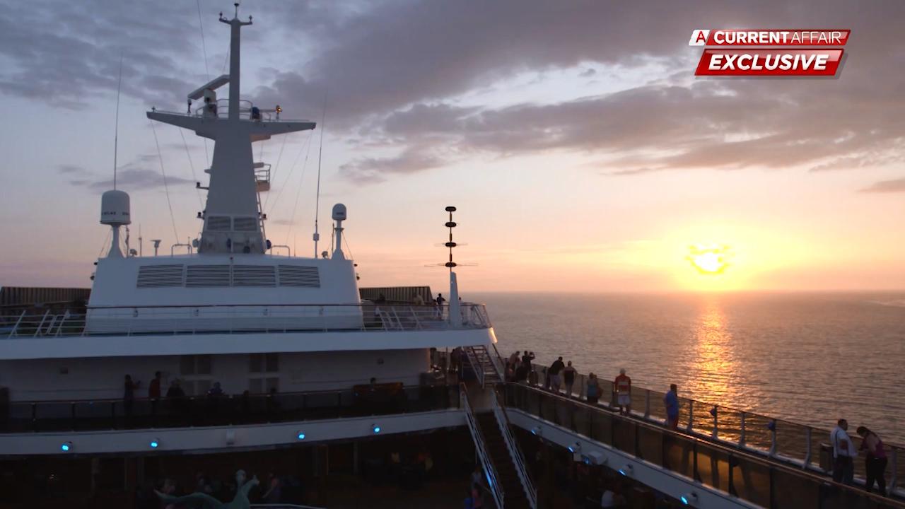 Cruise ship passenger's horror experience