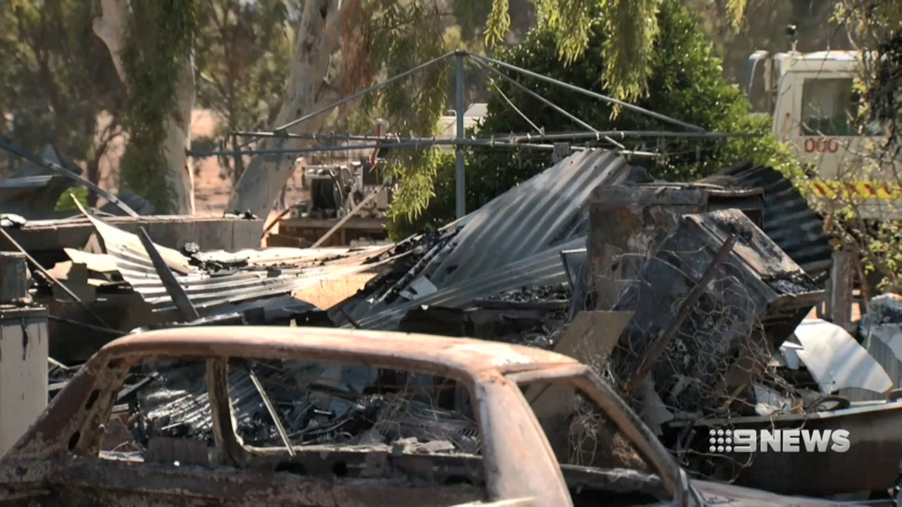 Father dies saving his son from house fire