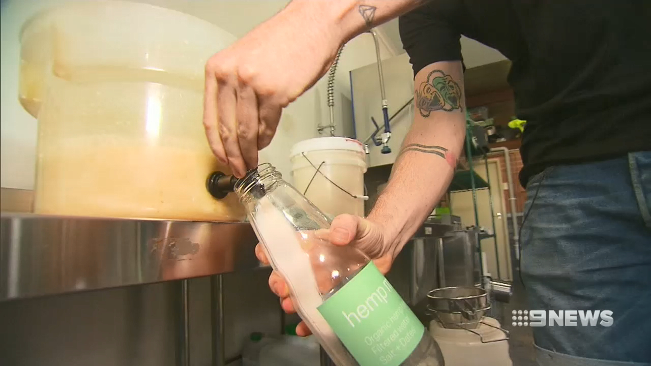 Milk made from cannabis plants hits Perth shelves