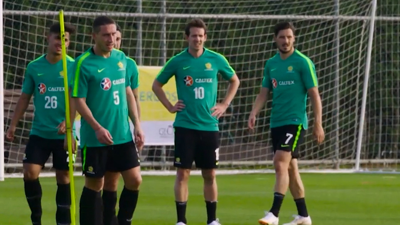 Socceroos prepare for World Cup warm-ups