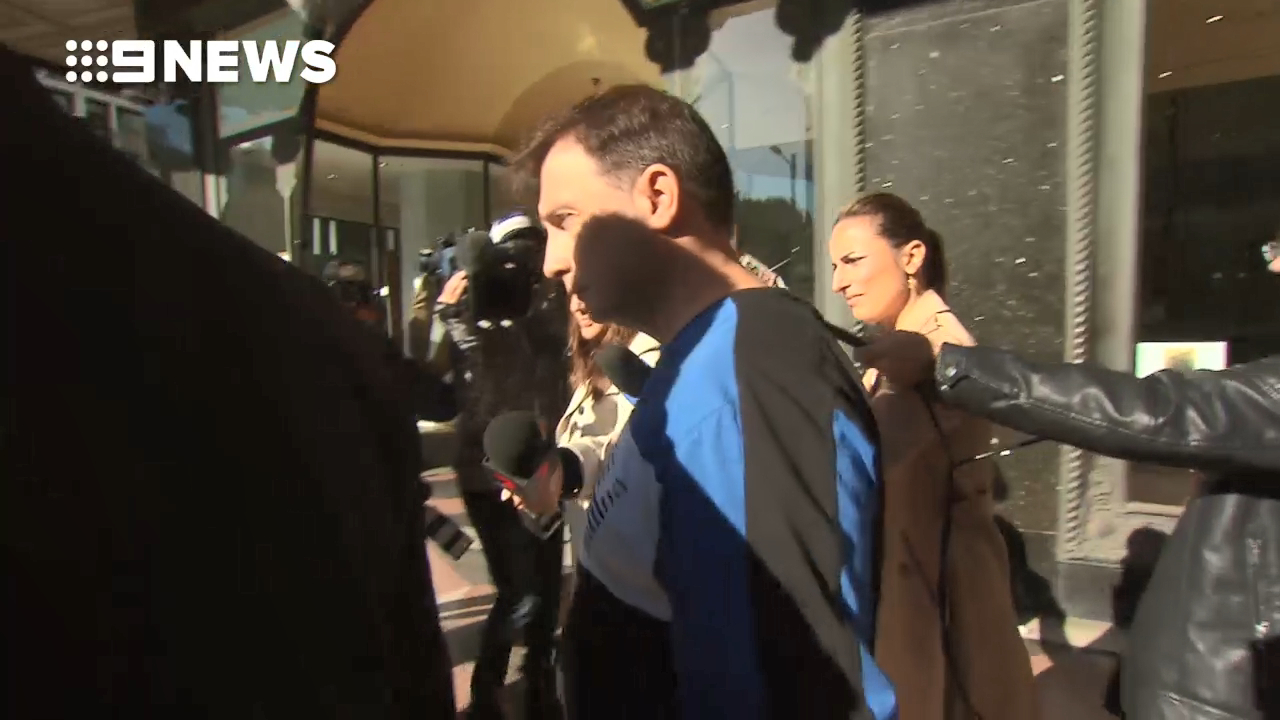 Tony Petrovski in court for alleged fraud