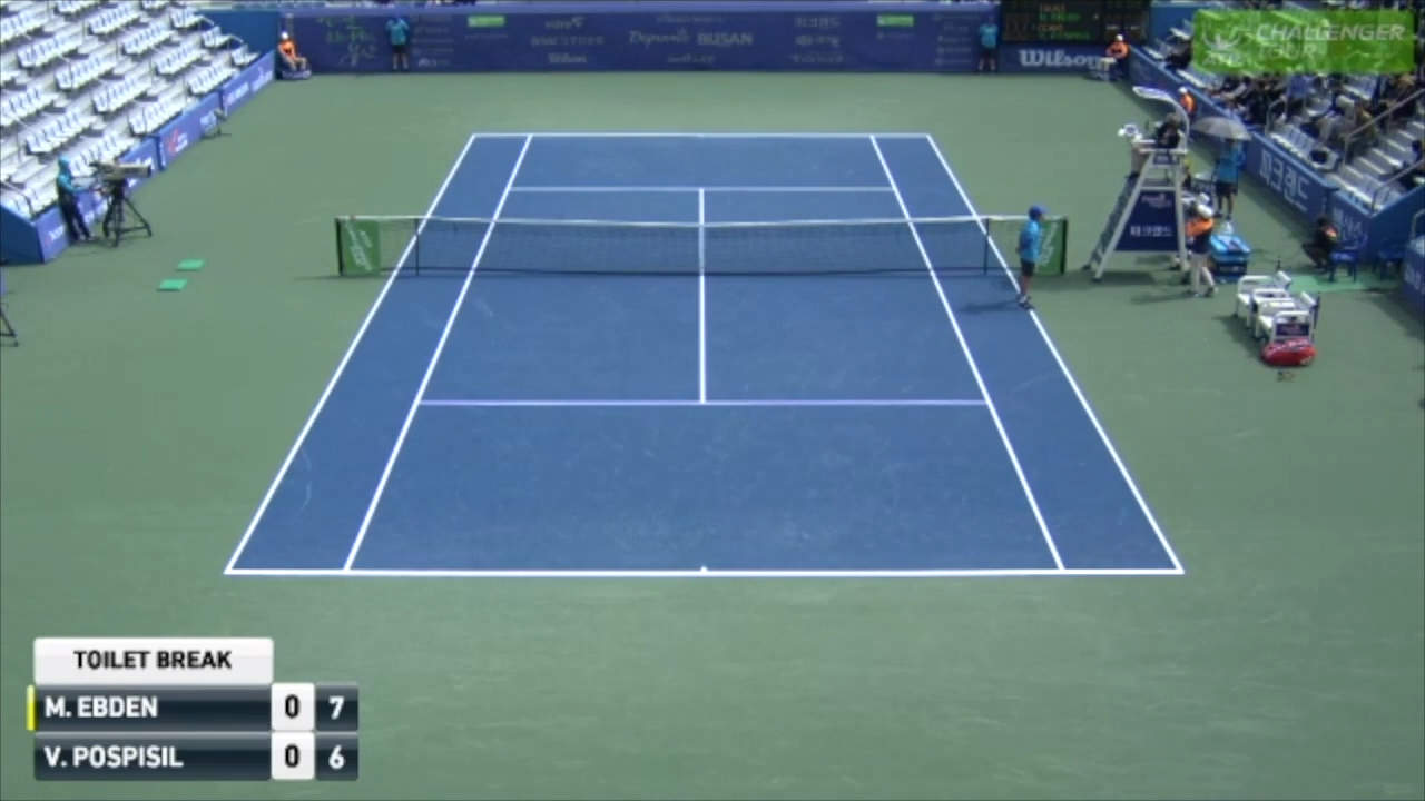 Aussie's opponent destroys racquet and banana