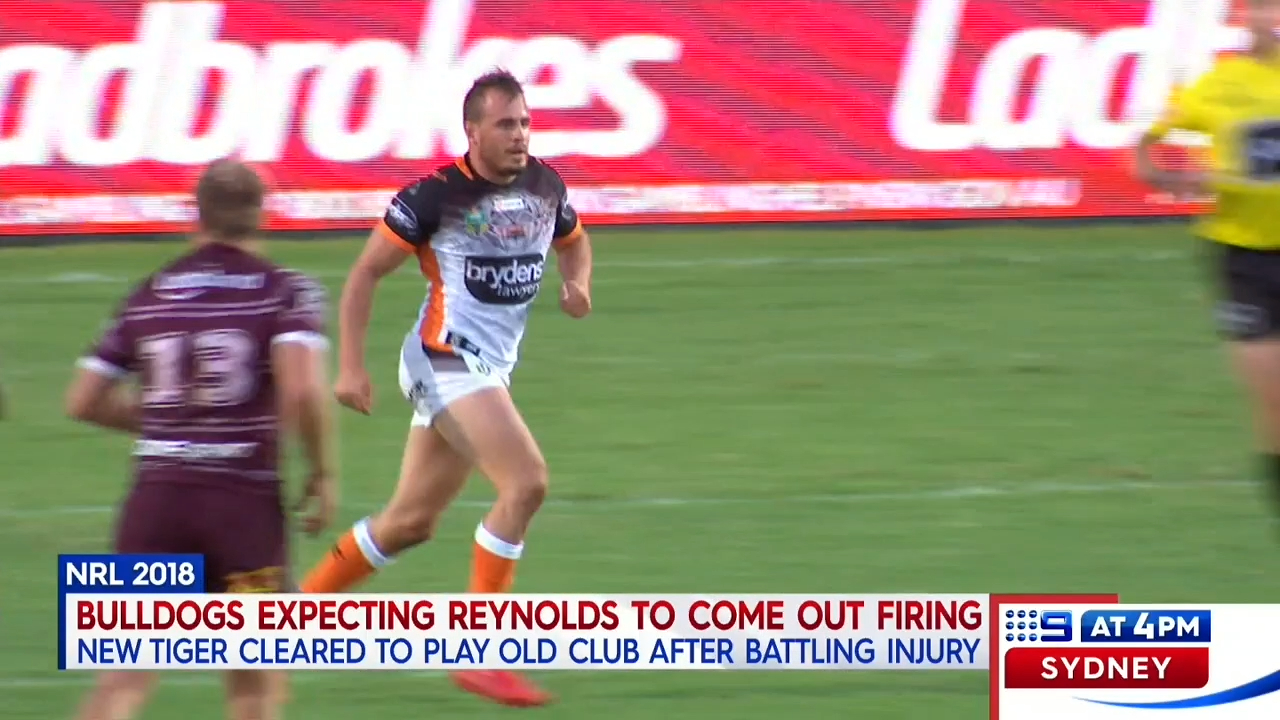 Reynolds cleared to play