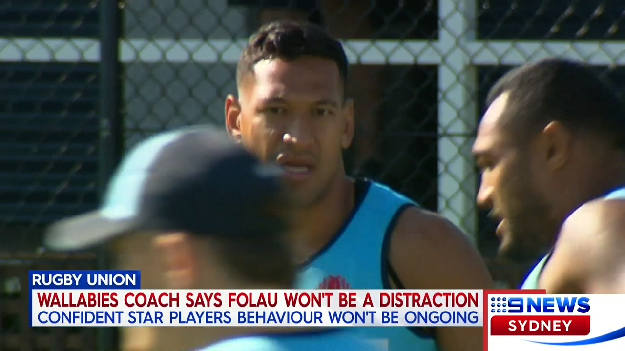 Folau won't be a distraction: Cheika