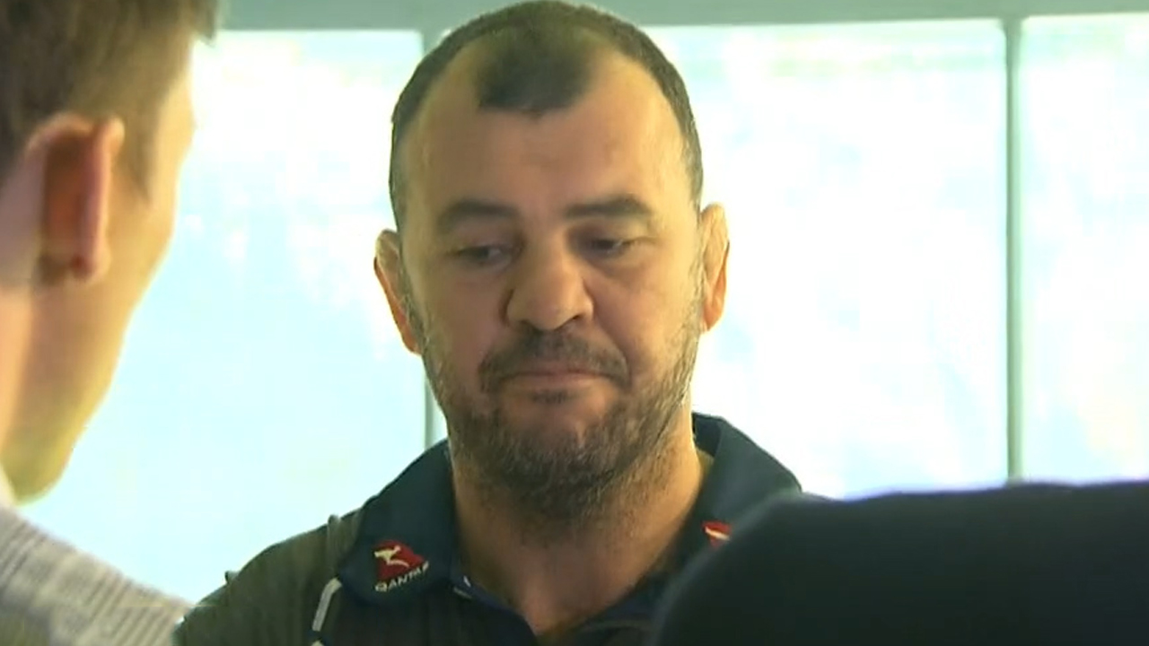 Cheika has heart-to-heart with Folau