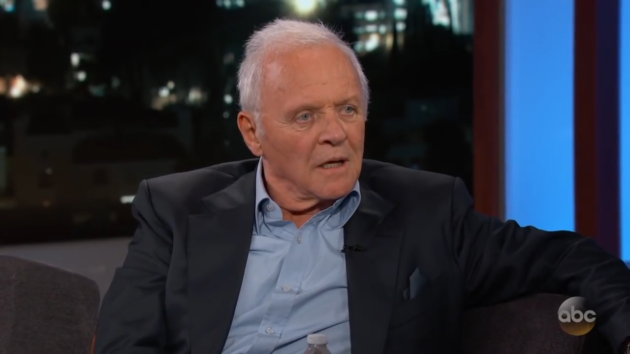 Sir Anthony Hopkins talks about important life lessons